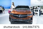 Small photo of 2020 Buick Envision at 2019 International Auto Show in Shenzhen, China. June 1, 2019.