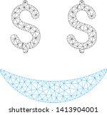 mesh businessman smile... | Shutterstock .eps vector #1413904001