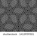 abstract geometric pattern. a... | Shutterstock .eps vector #1413959501