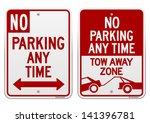 No Parking Sign