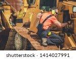 Bulldozer professional mechanic....