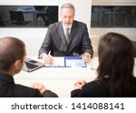 people at work in their office | Shutterstock . vector #1414088141