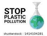 world environment day concept.... | Shutterstock .eps vector #1414104281