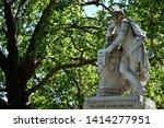 high dynamic range hdr statue... | Shutterstock . vector #1414277951