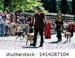 reims france june 2  2019 view...   Shutterstock . vector #1414287104