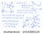 physical equations  diagrams... | Shutterstock .eps vector #1414300124