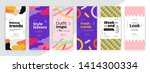 modern promotion square web...   Shutterstock .eps vector #1414300334