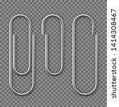 realistic paper clip attachment ... | Shutterstock .eps vector #1414308467