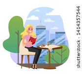 Businesswoman Sitting At The...