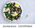 Apple Cranberry Kale Salad Bowl ...
