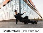 professional young man dancer... | Shutterstock . vector #1414404464