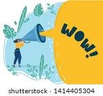cartoon vector illustration of... | Shutterstock .eps vector #1414405304