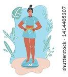 cartoon vector illustration of... | Shutterstock .eps vector #1414405307