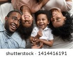 affectionate african american... | Shutterstock . vector #1414416191