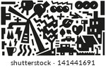 ecology   vector background | Shutterstock .eps vector #141441691