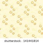 sketch bubbles  vector seamless ... | Shutterstock .eps vector #141441814