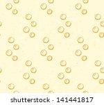sketch bubbles  vector seamless ... | Shutterstock .eps vector #141441817