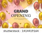 grand opening ceremony vector... | Shutterstock .eps vector #1414419164