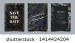 set of elegant luxury... | Shutterstock .eps vector #1414424204