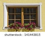 flowered window | Shutterstock . vector #141443815