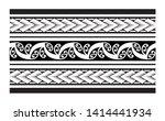 tribal pattern tattoo ... | Shutterstock .eps vector #1414441934