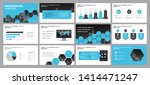 business presentation... | Shutterstock .eps vector #1414471247