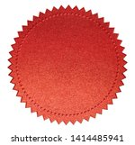 red diploma or certificate seal ... | Shutterstock . vector #1414485941