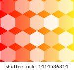 semi transparent hexagon... | Shutterstock .eps vector #1414536314