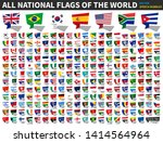 all national flags of the world ... | Shutterstock .eps vector #1414564964