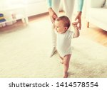 family  child  childhood and... | Shutterstock . vector #1414578554