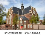 north church  noorderkerk  on... | Shutterstock . vector #141458665