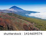 teide national park  tenerife ... | Shutterstock . vector #1414609574