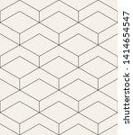 vector seamless pattern. modern ... | Shutterstock .eps vector #1414654547