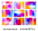 set of bright colorful banners... | Shutterstock .eps vector #1414658711