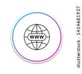 go to web icon isolated on...
