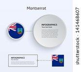 montserrat country set of...