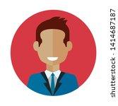 avatar social media isolated...   Shutterstock .eps vector #1414687187