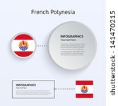 french polynesia country set of ...