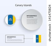 canary islands country set of...