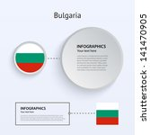 bulgaria country set of banners ...