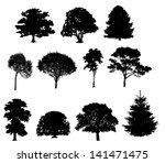 illustration of tree... | Shutterstock . vector #141471475