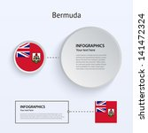 bermuda country set of banners...