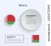 belarus country set of banners...