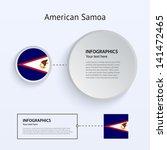 american samoa country set of...