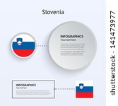 slovenia country set of banners ...
