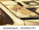 young handsome man in... | Shutterstock . vector #1414821791