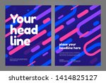 template design with dynamic... | Shutterstock .eps vector #1414825127