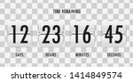 flip countdown clock counter...