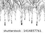 seamless horizontal background...   Shutterstock .eps vector #1414857761