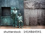 statues depicting the great... | Shutterstock . vector #1414864541
